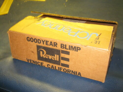 Vintage JC Penney Goodyear Blimp Model Kit 1975 (Very rare)