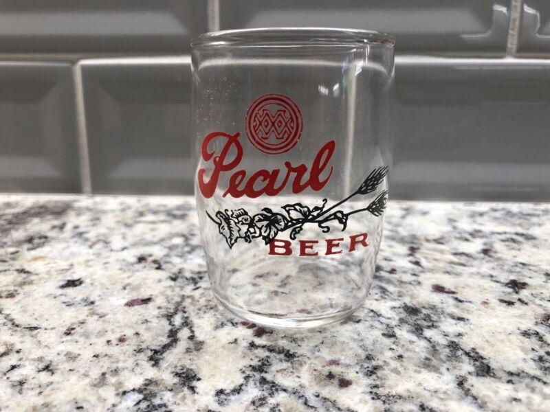 Pearl Beer Glass XXX Barrel  San Antonio Texas