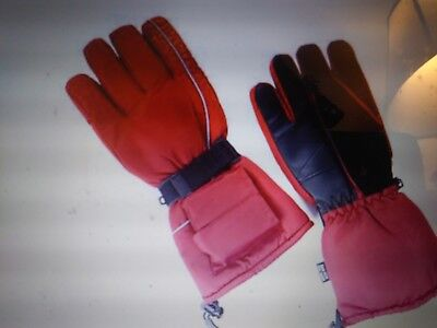 Arctic-X Heated Ski Gloves New! Hours of Warmth Large ()