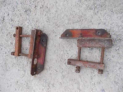 Farmall M Sm Mta 400 350 460 Tractor Pair Ih Drawbar Draw Bar Axle Brackets Bra