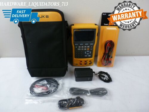 Fluke 754 Documenting Process Calibrator HART Great Condition w/ Accessories