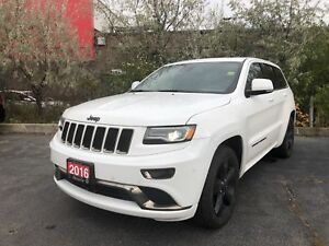 2016 Jeep Grand Cherokee OVERLAND**LEATHER**NAV**AIR SUSPENSION*