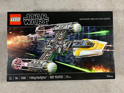 Lego 75181 Star Wars Ultimate Collector Series Y-Wing Starfighter New Sealed box