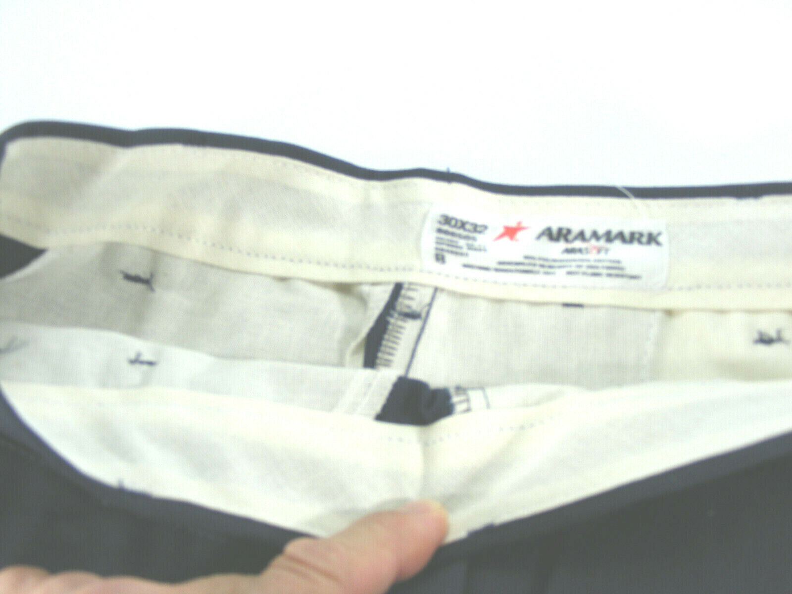 Aramark Uniform Work Pants Size 32 X 30 # 866505 Uniform Pan