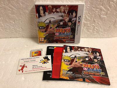 Jeu Vidéo Naruto Shippuden The New Era 3D 3DS / 2DS Complet Nintendo 505 Games