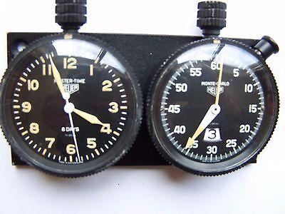 Weitere Uhren Original Heuer Mastertime Borduhr