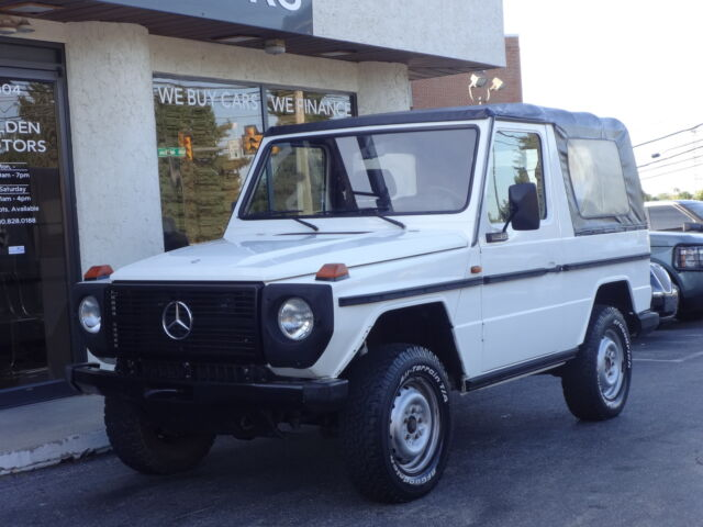 1987 Mercedes 240gd 240 Gd Soft Top Diesel Used