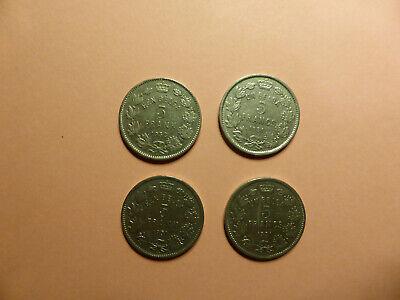 Lot 4 pièces Belges - 4 x 1 Belga de 1931 - très bel état - photos