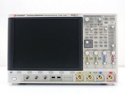 Keysight Used Msox4154a Oscilloscope Mixed Signal 4 16-ch 1.5 Ghz - Bndl