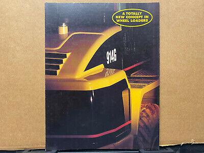 Caterpillar 914g Wheel Loader Brochurecatalog 1995