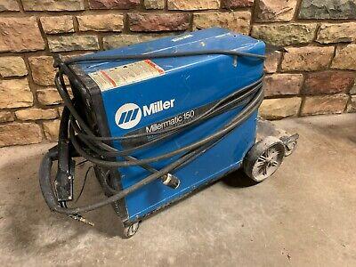 Miller Millermatic 150 Cv Dc Arc Welding Welder Propane