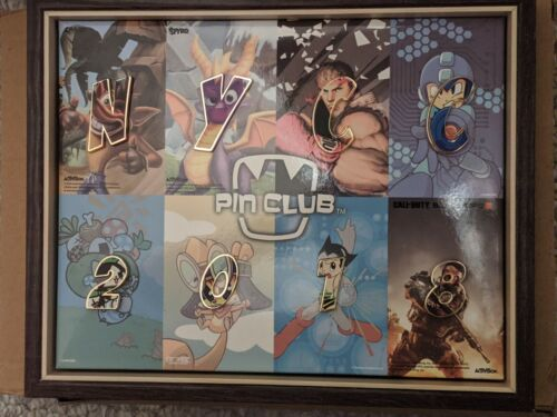 NYCC 2018 FROMBIE STAFF PIN CLUB SET w/ Frame New York Comic-Con only 100 avail