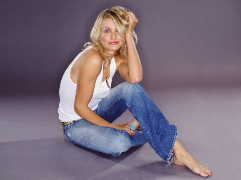 Cameron Diaz In Jeans 8x10 Picture Celebrity Print