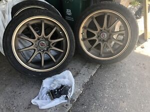 Rims and tires!