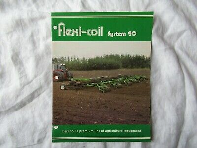 Flexi-coil System 90 Harrow Packer Drawbar Brochure