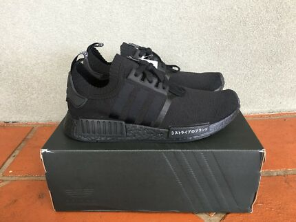 adidas NMD R1 Primeknit 'Japan Triple Black' US 9.5/UK 9
