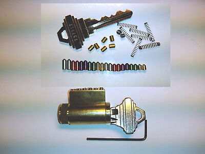 Spool Pin Locksmith Practice Schlage Lock With Removable Pins Training