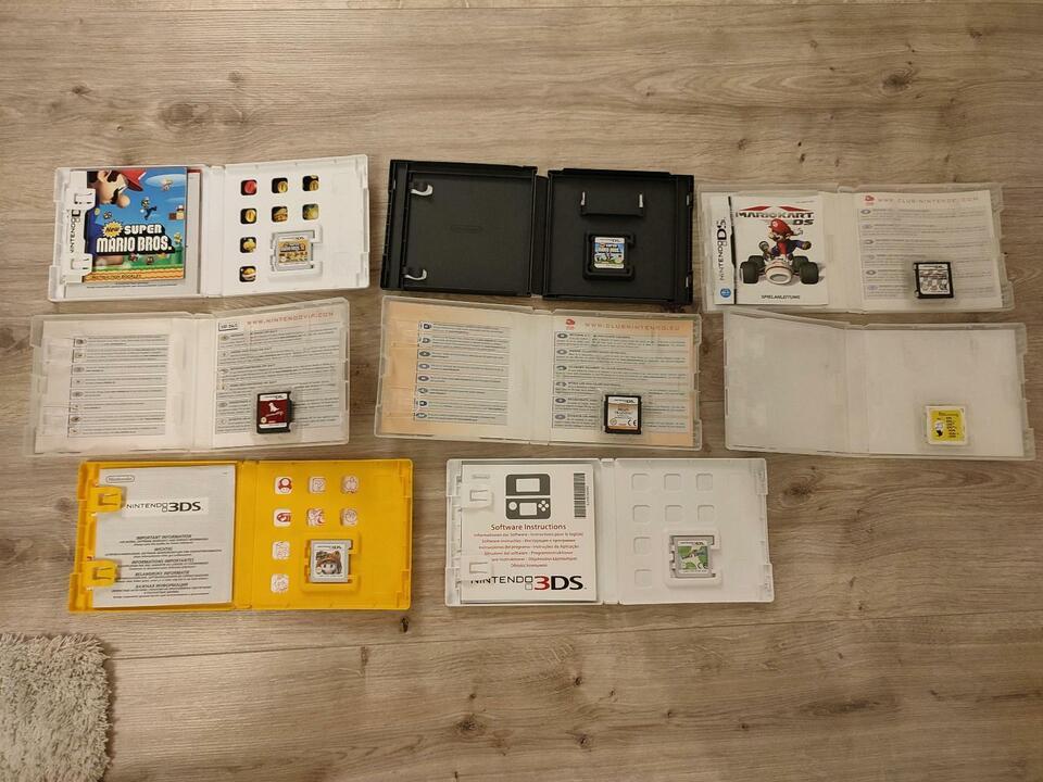 Spiele für Nintendo DS und 3DS zu verkaufen in Nordrhein-Westfalen - Detmold