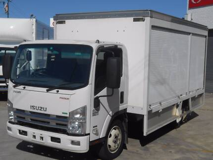 2012 Isuzu NQR450 Pantech with Roller Doors Old Guildford Fairfield Area Preview