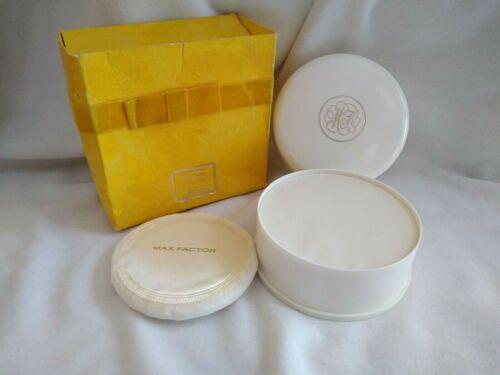 Vintage Max Factor Hypnotique Bath Powder 4 Oz New in Box