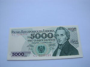 5000 zł CL 0200223 stan 1 - <span itemprop='availableAtOrFrom'>Kosakowo, Polska</span> - 5000 zł CL 0200223 stan 1 - Kosakowo, Polska
