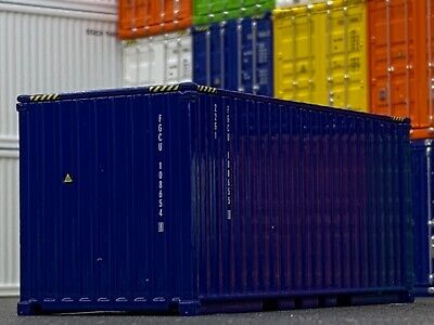 1/64 DCP BLUE 20' SHIPPING CONTAINER UNIT 1