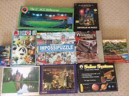various Puzzles $5 each