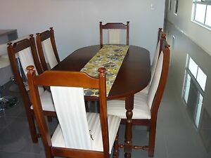 Dining table and 6 chairs Wynnum Brisbane South East Preview