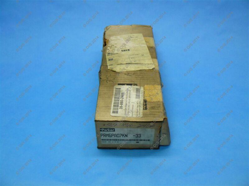 Parker PRM6PA07KN Pressure Reducing Manapak Valve 150-1000 PSI NFPA D08 New