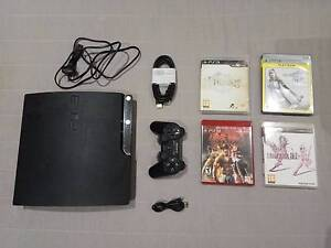 PS3 Playstation 3 Slim 160GB with 4 Games Meadowbank Ryde Area Preview
