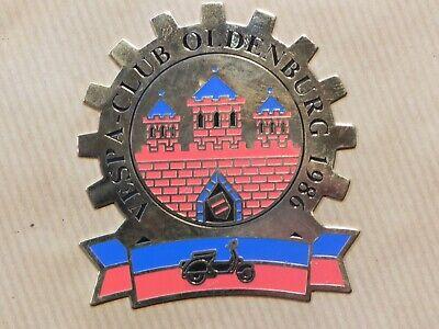 Vespa Club Oldenburg 1986 Badge