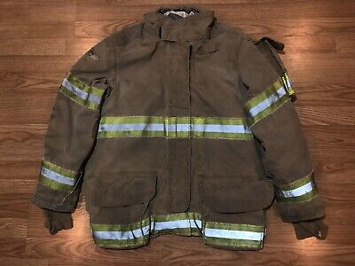Janesvillelion Apparel Firefighters Jacket Turnout Bunker Gear 48 32 L 4001