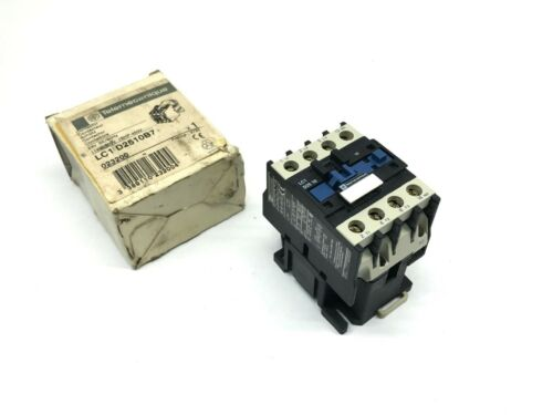 Telemecanique  LC1D2510B7 Contactor 24VAC Coil