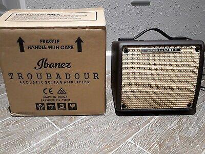 Ibanez Troubadour T15II-H 18W Acoustic Guitar Amp GREAT SHAPE!!!