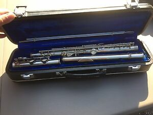 Silver Flute in perfect condition (may be plated)
