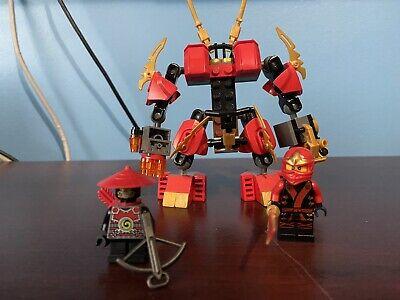 LEGO Ninjago Kai's Fire Mech (70500) 100% COMPLETE