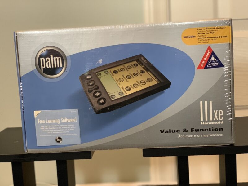 PALM IIIxe Personal Handheld Organizer PDA NEW & FACTORY SEALED VINTAGE