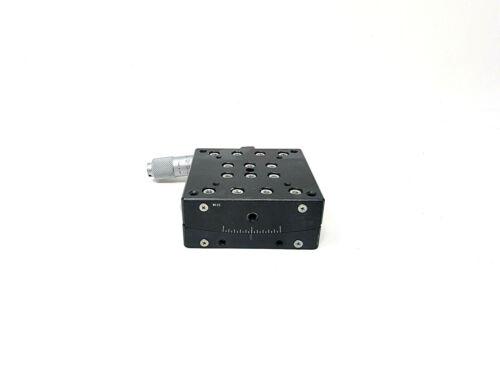 Suruga Seki B58-60TLC One Axis Crossed Roller Goniometer Stage Micrometer