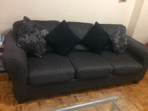 Couch and love seat for $ 150