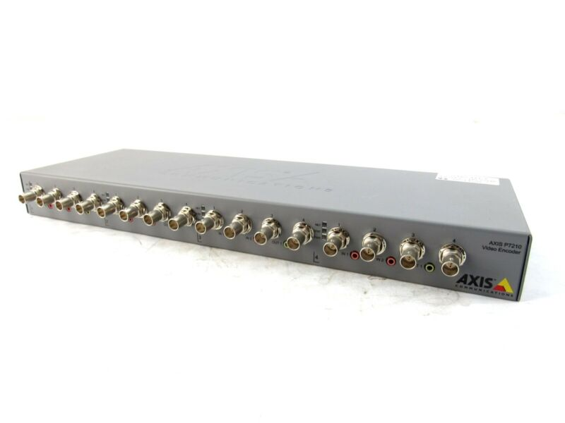 Axis P7210 16-Channel Video Encoder