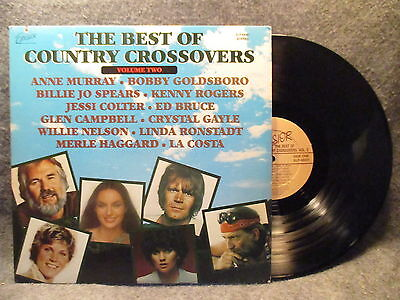 33 Rpm Lp Record Excelsior The Best Of Country Crossovers 1979 Vol 2 Xlp 88001
