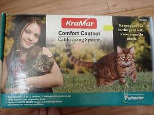 KRAMAR COMFORT CONTACT CAT FENCING SYSTEM Booragoon Melville Area Preview