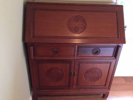 Chinese Rosewood Writing Desk