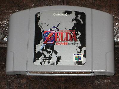 Zelda no Densetsu: Toki no Ocarina Nintendo 64 N64 JP Japan Import Legend Time for sale  Montreal