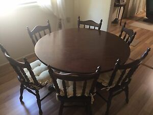 Dining table and 6 chairs Ashmore Gold Coast City Preview