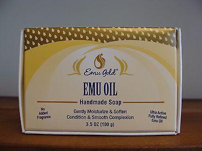 (Lot of 2)Emu Gold Emu Oil Handmade Soap 3.5 oz (Lot of 2)