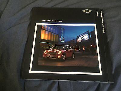 2005 BMW Mini Cooper S USA Market Color Brochure Catalog Prospekt
