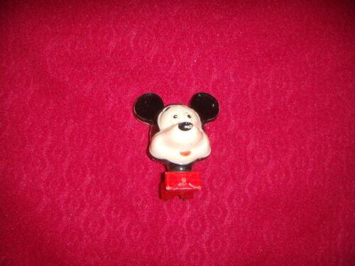 Vintage Disney Mickey Mouse Plug In Night Light