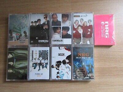 NRG 9  Korea Cassette Tape K POP SEALED NEW
