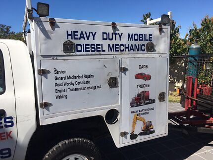 Mobile truck mechanic Slacks Creek Logan Area Preview
